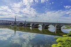 The Bridge at Blois (Geoff Threadgill Away again) Tags: coth sunrays5