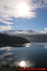 Innvikfjorden - Blaksaeter (soyouz) Tags: blakster faleide geo:lat=6188432500 geo:lon=656754500 geotagged nor norvge sognogfjordane fjord montagne neige innvikfjorden norvegela