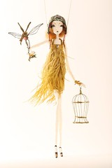 Imogene (fantoche art dolls) Tags: fantoche oana micu art dolls papusi objects theatrical costumes doll stand scenography magical nostalgia