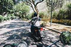 Palermo (Colors in B&W) Tags: sicily moto bike palermo sea