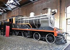 Pakistan Railways No. 3157 4-4-0 Class Locomotive (Grumman G1159) Tags: locomotive steamlocomotive engine steamengine pakistanrailways no3157 3157 thevulcanfoundryltd class440 northwestindiarailway 440class kettle 3064 worksno3064 museumofscienceindustry manchester