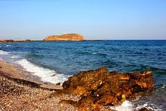 Naxos Grotta (ika_pol) Tags: naxos greece cyclades cycladesislands beach greekislands morning geotagged mediterranean naxostown aegeansea sea aegean palatia protara apollo apollotemple