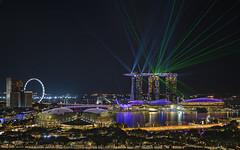 Singapore Cityscapes from Sky Lounge Peninsula Excelsior (gintks) Tags: gintaygintks gintks singapore singaporetourismboard singapur sg51 mbs singaporeflyer esplanade esplanadefloat laser yoursingapore exploresingapore