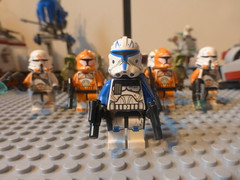 LEGO Clone Army 2014: Captain Rex (Pinder Productions) Tags: army starwars december 14 plate troopers vehicles 29 clone 13 haul 2014 2013 pinderproductions epicreviewers