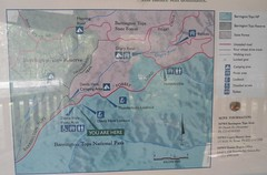 Barrington Tops National Park Map - Devil's Hole Region (Wilderness Kev) Tags: australia nsw newsouthwales devilshole barringtontopsnationalpark devilsholelookout