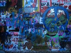 John Lennon wall #2 - Street art in Prague (Sokleine) Tags: street streetart graffiti grafitti prague expression politics prag praha urbanart czechrepublic lennon rue johnlennon artderue