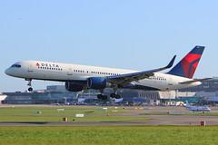N710TW Delta Airlines Boeing 757-2Q8 (carlowspotter) Tags: ireland dublin airplane aviation delta boeing 757 airliner dublinairport deltaairlines 757200 planespotter 7572 avgeek 7572q8 n710tw eidw