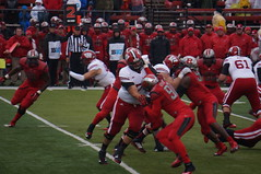 Some action from the Wisconsin/Rutgers game in Piscataway, NJ (Hazboy) Tags: new november college sports sport wisconsin scarlet point football big high university stadium 10 nj knights badgers ten jersey conference solutions rutgers ncaa piscataway 2014 hazboy hazboy1