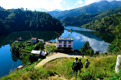 Motel (Nabin Malakar) Tags: nepal lake landscape hiking ngc artificial adventure indra sarowar kulekhani