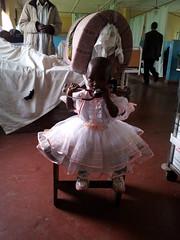 Kleine Patientin-Prinzessin-geheilt
