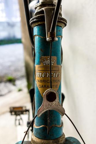 Vieil équipement vélo