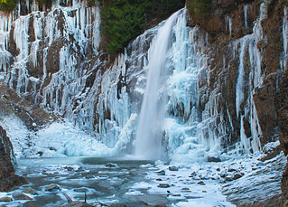 Franklin Falls Frozen