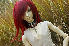 Golden Autum (SarahDoodleDolls) Tags: ball doll bjd chen azrael jointed balljointeddoll dollzone