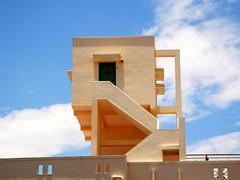 Fly to the sky (sigurshoot) Tags: sky india house landscape design tamilnadu pondicherry architetture