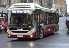 32 - BG64 FXE (Cammies Transport Photography) Tags: street bus buses for volvo coach edinburgh transport royal h 24 hybrid 32 infirmary lothian frederick 7900 fxe bg64 bg64fxe