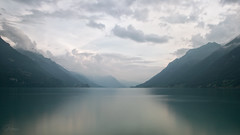 Infinity (Gikon) Tags: longexposure light sky lake mountains water clouds nikon brienzersee 1855mm gikon d3100