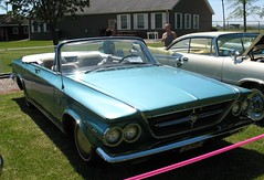 1963 Chrysler 300 Convertible (ilgunmkr - Thanks for 4,000,000+ Views) Tags: convertible chrysler mopar carshow 1963 chrysler300 sandwichillinois chryslerconvertible chryslerproduct