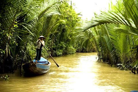 Mộc mạc bánh nắn lá dừa nước Sóc Trăng 3