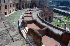 Trajan's Market street and store view