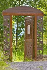 The First Law of Ecology (flythebirdpath > > >) Tags: wa portal birdsculptures clarkco steigerwaldnwr