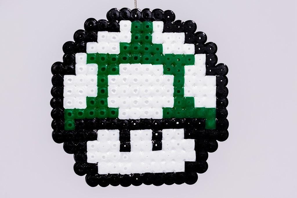 0eb47251d 015 (CabbitCastle) Tags  christmas decorations tree green castle mushroom  diy beads decoration super