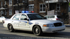 Service de police de la Ville de Qubec (SPVQ) (POLICEDUQUEBEC.COM) Tags: ford qubec interceptor 0276 spvq