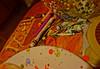 Candles and crayons (ERI-V) Tags: glass melting colorful vibrant sony ladybug brightcolors vignette crayolas nex6