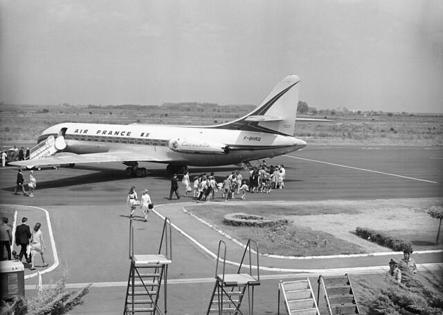 AF SE-210 Caravelle III F-BHRQ (1969-07 Bastia-Poretta Cn046)