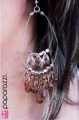 5th Avenue Brown Earrings K1 P5310-5