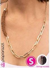 5th Avenue Brown Necklace K1A P2310A-1