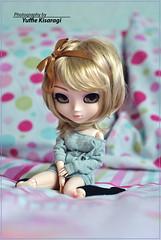 Naele - Pullip Hello Kitty (Yuffie Kisaragi) Tags: hello doll kitty pullip obitsu rewigged rechipped naele