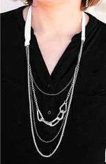 5th Avenue White Necklace K1A P2610A-4