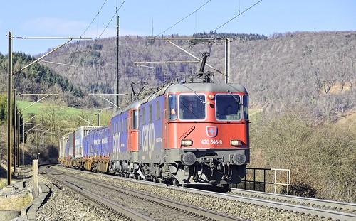 SBB Cargo Lok 420 346-9