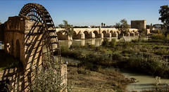the beauty of life is condensed into continuity of cultures (lunaryuna) Tags: history beauty decay landmarks cordoba andalusia lunaryuna lightshadow papermill romanbridge southernspain guadalquivirriver ancientplaces calahorratower culturelandscape sketchesfromspain underandalusiansun