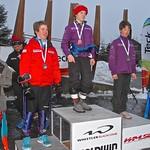 Boys podium, U14 Teck Whistler