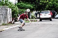 SK8... (mauroheinrich) Tags: brasil speed nikon long surf slide downhill skate longboard nikkor nikondigital velocidade riograndedosul sk8 roader 28300 nikonians ibirub nikonprofessional d300s 28300vr nikonword