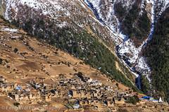 Ghyaru, Annapurna Circuit, Nepal (Feng Wei Photography) Tags: travel nepal color tourism horizontal landscape asia village outdoor scenic tibetan remote np hillside annapurnacircuit annapurna himalayas gyaru manang gandaki ghyaru westernregion annapurnaconservationarea