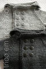 Casaquinho Bebê Comportado (tricô em prosa) Tags: baby sweater bebê cardigan seamless casaco suéter semcostura cardigã