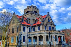 Haunted Jail (J Jenkins DeRidder) Tags: haunted jail hdr historicbuilding hauntedjail beauregardparishcourthouse deridderla louisianasmalltown