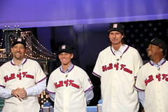 New Hall of Famers visit Letterman (apardavila) Tags: sports baseball mlb lateshowwithdavidletterman randyjohnson edsullivantheater pedromartinez majorleaguebaseball johnsmoltz craigbiggio nationalbaseballhalloffame