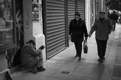 (TMarkou) Tags: poverty street winter people cold homeless greece thessaloniki