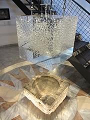 Mercury in lucite, sculpture at Gewerkenegg Castle museum, Idrija, Slovenia (Paul McClure DC) Tags: sculpture modern mercury quicksilver historic slovenia slovenija primorska idria idrija aug2012