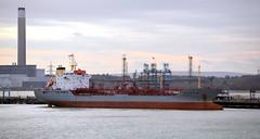 Frank (R~P~M) Tags: uk greatbritain england boat ship unitedkingdom vessel hampshire tanker fawley hants