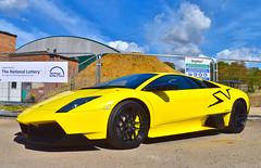Lamborghini Murcielago SV (SJB__Photography) Tags: cars car nikon lamborghini supercar sv carshow murcielago brooklands lambo autoitalia hypercar d5500 superveloce