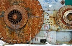 MACHINE (akahawkeyefan) Tags: rust wheels machine equipment davemeyer