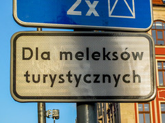Wrocaw (isoglosse) Tags: sign poland polska schild polen sansserif wrocaw breslau znak kreska