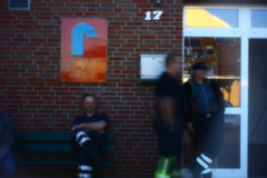 127.366.fire (olivgrau) Tags: week18 blurry outdoor pinhole friday firebrigade day127 day127366 day857 week18theme 366the2016edition 3662016 6may16