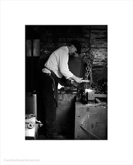 The Chainmaker / Black Country Living Museum (Andrew James Howe) Tags: light portrait blackandwhite portraits mono iron industrial blackcountry blackcountrylivingmuseum andrewhowe chainmaker