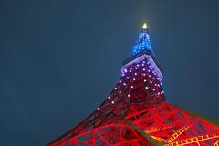 P5030422 (Zengame) Tags: tower japan architecture night pen tokyo highresolution illumination landmark olympus illuminated jp  tokyotower  zuiko  highres  penf     mzuiko 12mmf20 mzuikodigitaled12mmf20 highresshot