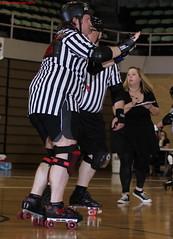 IMG_2067 crop 1 (KORfan) Tags: rollerderby referees runaways officials thirdcoast windycityrollers southshorerollergirls